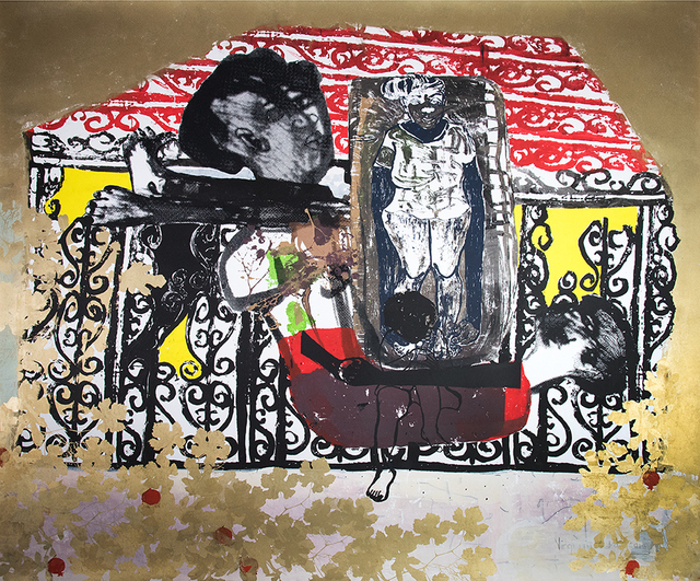 Virginia Chihota, 'Bhai bhai dhirezi handikanganwe – Bye bye dress I cannot forget ', 2018, Print, Screenprint on paper, Tiwani Contemporary
