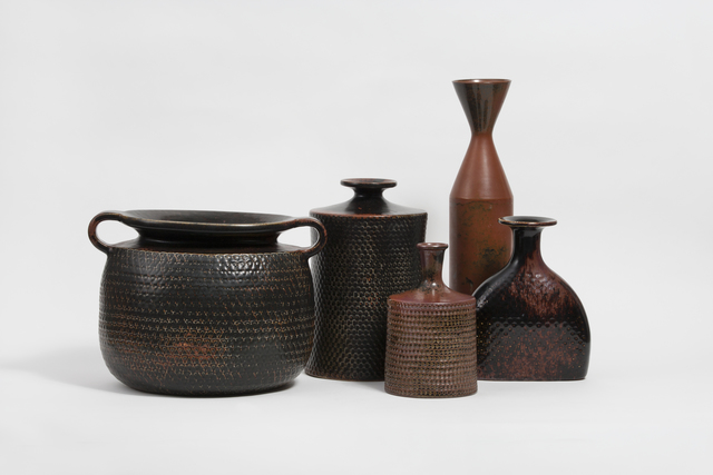, 'Studio Vases,' ca. 1950, Hostler Burrows