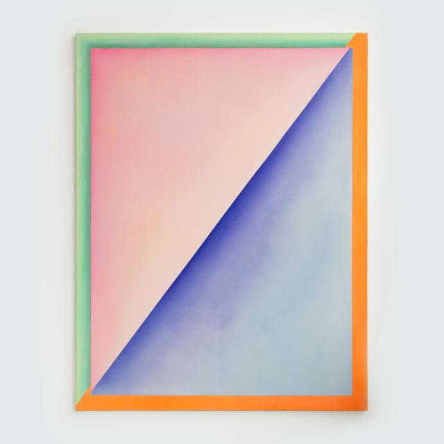 , 'Untitled (Blue and Blush),' 2015, Miranda Kuo Gallery
