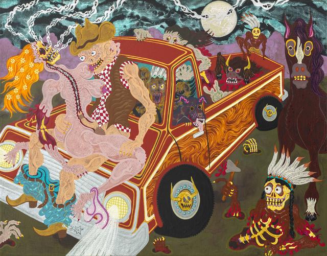 , 'Midnight Truckin',' 2015, Gallery Poulsen