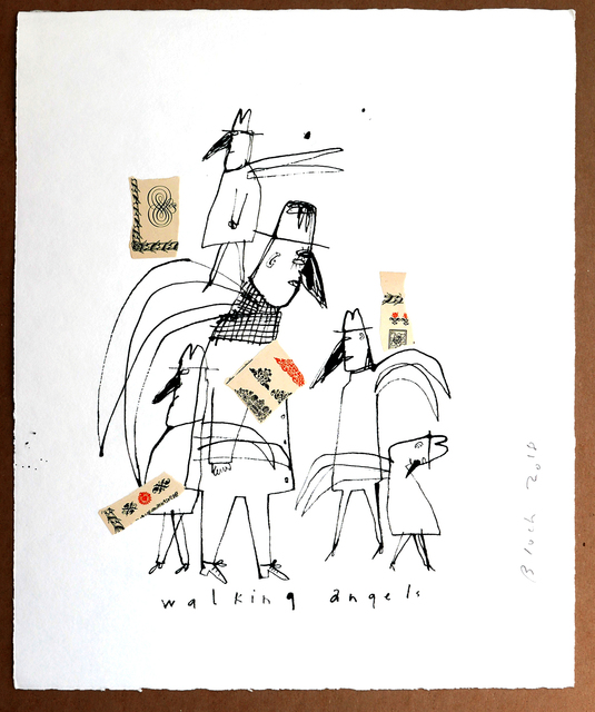 , 'Walking Angels,' 2018, Michele Mariaud Gallery