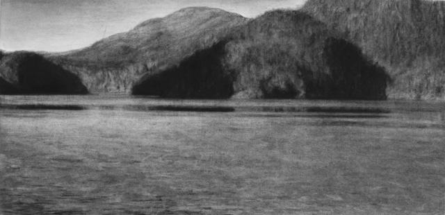 , 'Heading North #4 (Fjord),' 2017, Galerie Ron Mandos