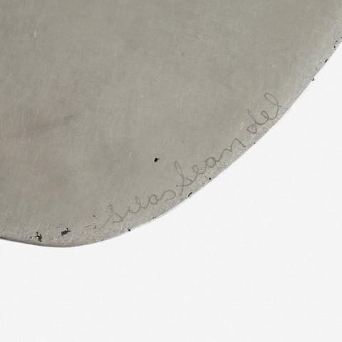 "Silas Seandel, '""Tub"" Side Table', 2000, Design/Decorative Art, Brushed stainless steel, Freeman's"