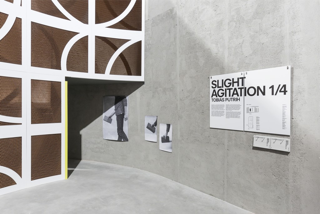 """SLIGHT AGITATION 1/4: Tobias Putrih""View of the exhibition. 20 October 2016 – 22 January 2017. Fondazione Prada, Milan. Tobias Putrih, Exchange, 2016. Photo Delfino Sisto Legnani e Marco Cappelletti. Courtesy Fondazione Prada"