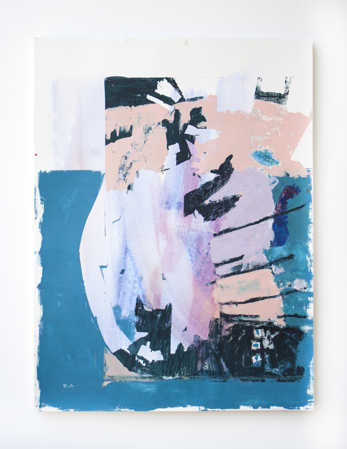 , 'Blue Eye with Beige and Lavender Stacked,' 2018, Open Mind Art Space