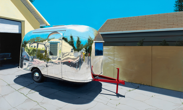 , 'Red Hitch Airstream,' 2019, Russo Lee Gallery