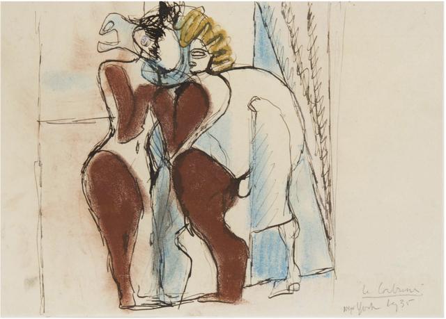 """, 'Etude pour """"Cirque"""" dit aussi """"le cheval de cirque"""", New-York,' 1935, BAILLY GALLERY"""