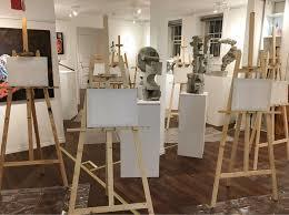 A typical set up of our Gallery Paint Parties. Excited to host them every Saturday from 7-9pm.  Great for artists and the general public. Try it, they are part of our events.