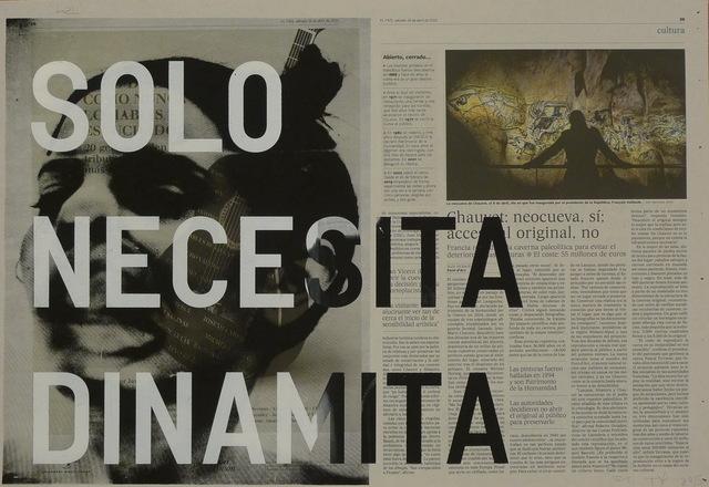 , 'Solo necesita dinamita,' 2015, NF/ NIEVES FERNANDEZ