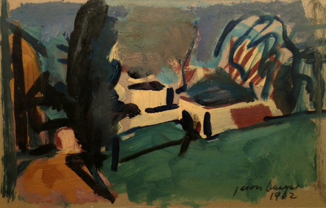 , 'Landscape,' 1962, Cavalier Galleries