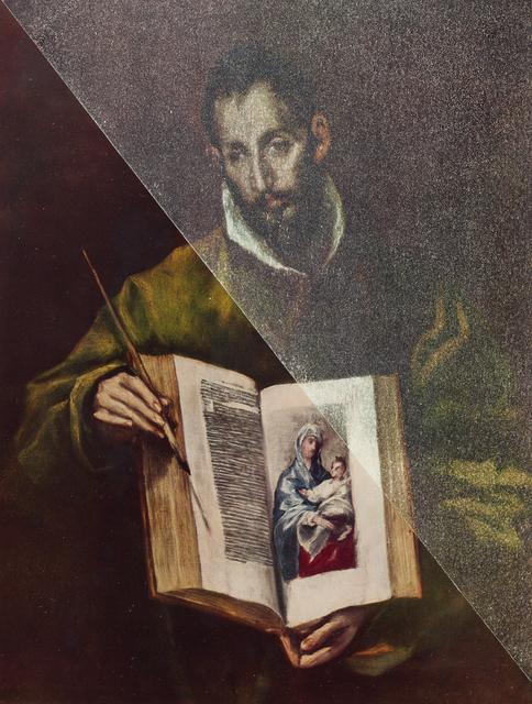 , 'San Luca come pittore,' 2014, Keitelman Gallery
