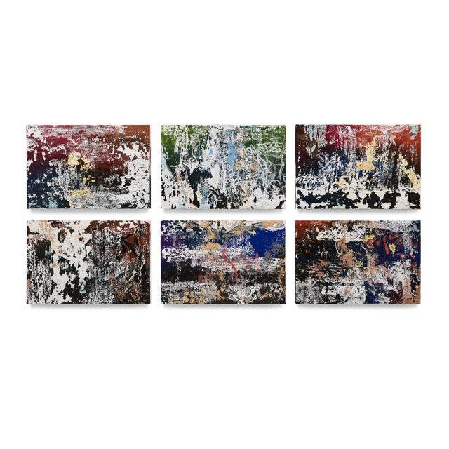 José Parlá, 'Nocturnal Inscriptions', 2019, Ben Brown Fine Arts