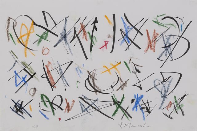 , 'Untitled (V.3),' 1993, Aicon Gallery