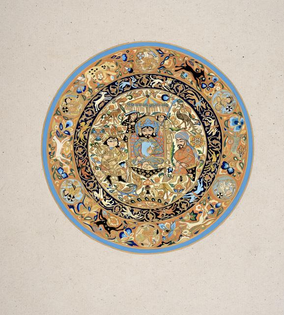, 'Circle Tapestry,' 2017, Janet Rady Fine Art