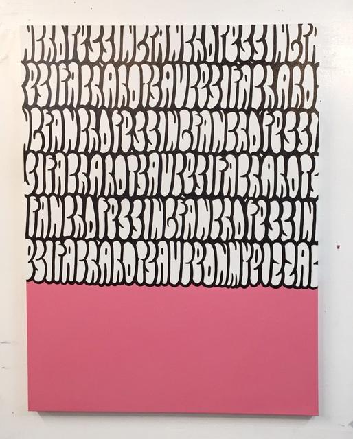 , 'Serious Graff,' 2017, Krause Gallery