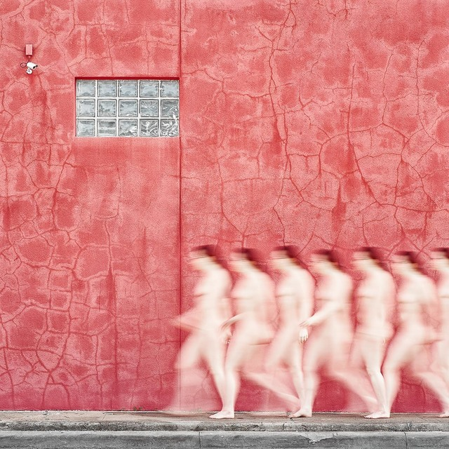 , 'Nude3 and Red Wall,' 2017, Foto Relevance
