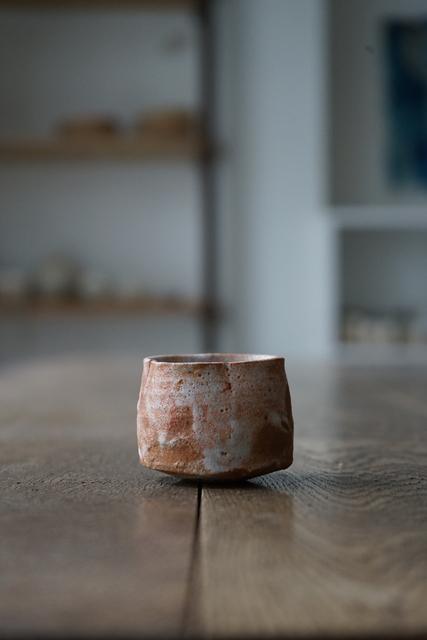 , '志野ぐい呑 Sake-Cup (Shino-Style),' , Kami ya Co., Ltd.