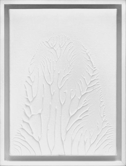 , 'Peinture Blanche F4 #1,' 2016, 22,48m2