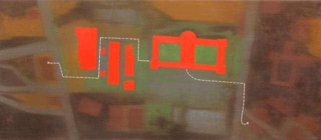 , 'Mapa de desconfianza,' 2016, Galería Weber-Lutgen