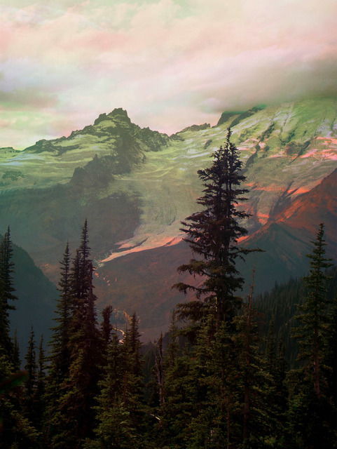 Peter Funch, 'Mt. Rainier Emmons Glacier From Sunrise Park Road', 2015, V1 Gallery