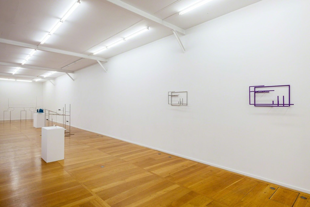 Waltercio Caldas, exhibition view, galerie Xippas, Paris, 2017 Photo: Frédéric Lanternier