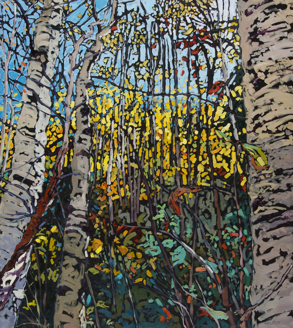 , 'Dancing with an Autumn Breeze,' 2015, Abend Gallery