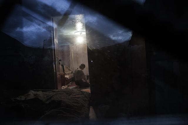 , 'Ramazan Praying in His Home,' , Galleri Duerr