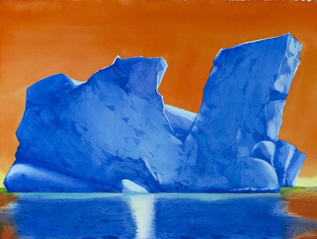 , 'Dusk, Arthur Harbor, Antarctica,' , Dowling Walsh