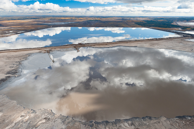 , 'Reflected Sky in Tailings Pond,' 2010, 555 Gallery