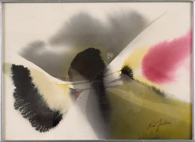 Paul Jenkins, 'Untitled', ca. 1972, Drawing, Collage or other Work on Paper, Watercolor on paper, Berry Campbell Gallery