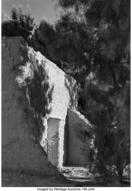 Laura Gilpin, 'Old Adobe and Salt Cedars', 1946-printed later, Heritage Auctions