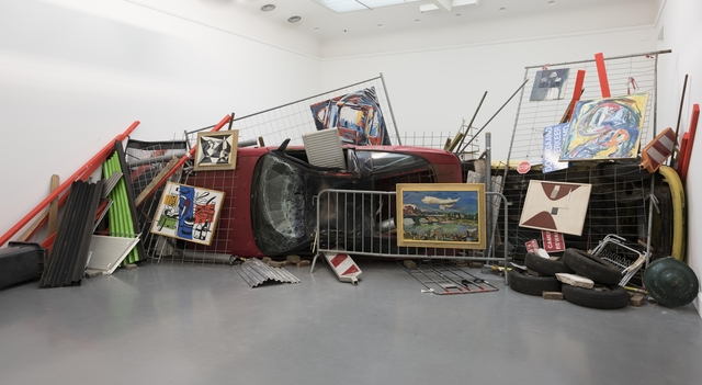 , 'Bakunin's Barricade,' , Art Encounters Foundation