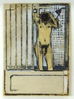, 'Untitled (Bathroom Nude II),' 1975, Tibor de Nagy
