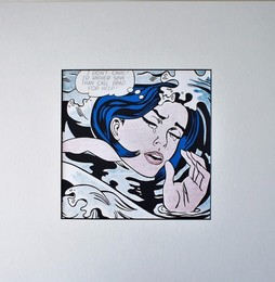 Drowning Girl (1963) for Art Basel