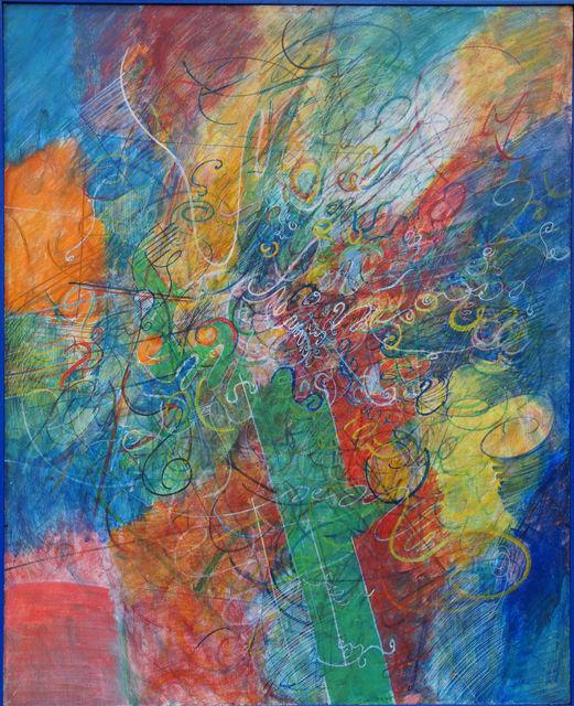 Tancredi, 'Facezia', 1960, Painting, Casein tempera on masonite, ML Fine Art
