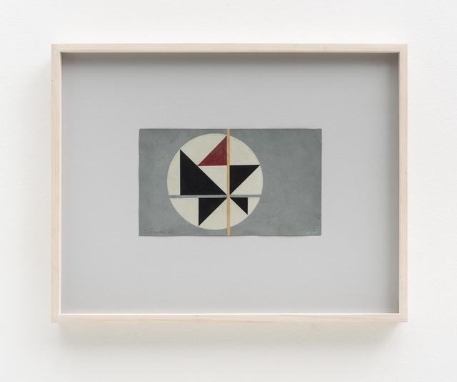 , 'Tema Triangular 5,' 1950's, Bergamin & Gomide
