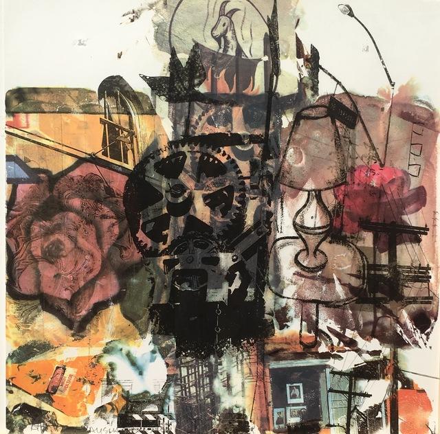 Robert Rauschenberg, 'Quatro Mani II', 1998, Print, Multi-colored Screenprint, Eckert Fine Art