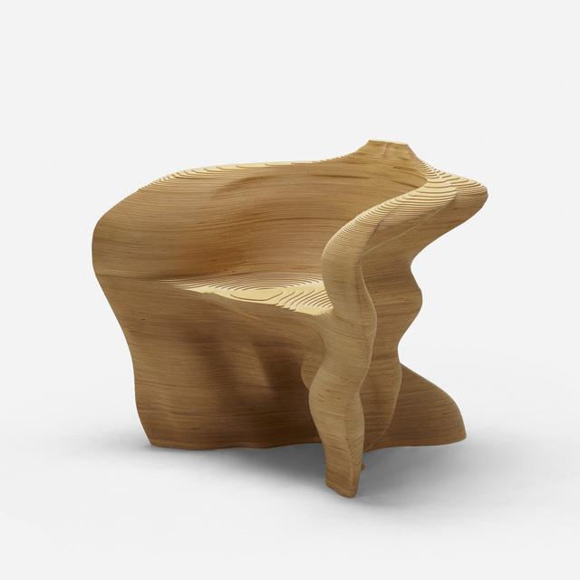 Mathias Bengtsson, 'Slice Chair', 1999, Design/Decorative Art, Laser-cut and laminated plywood, Rago/Wright