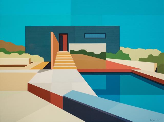 """, '""""Concrete Desert House"""",' 2018, Bonner David Galleries"""