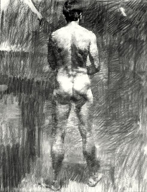 , 'Man in the Dark,' , Sirona Fine Art