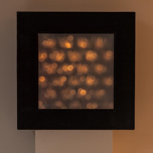 , 'Boîte à lumière instable,' 1965, Galerie Denise René