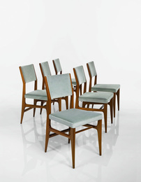 Gio Ponti, 'Set of Six Dining Chairs, Model No. 111,' circa 1950, Sotheby's: Important Design