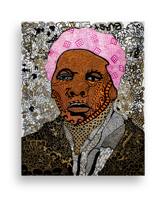 Roberto Lugo, 'Angry Mob of Peaceful Protestors: Harriet Tubman', 2019, Wexler Gallery