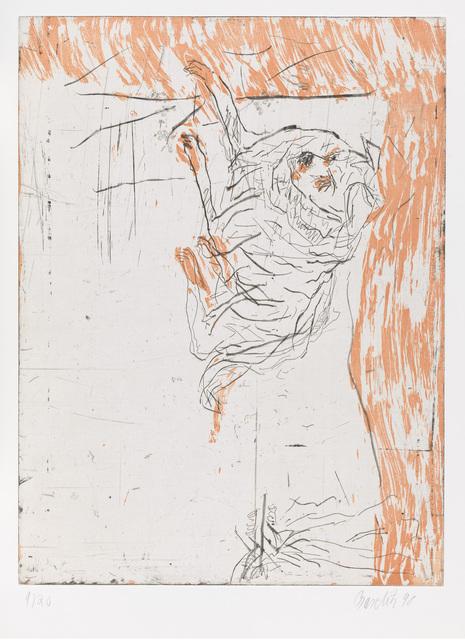 ", 'Ricco, from ""Schlafende Hunde"",' 1998-1999, Gagosian"