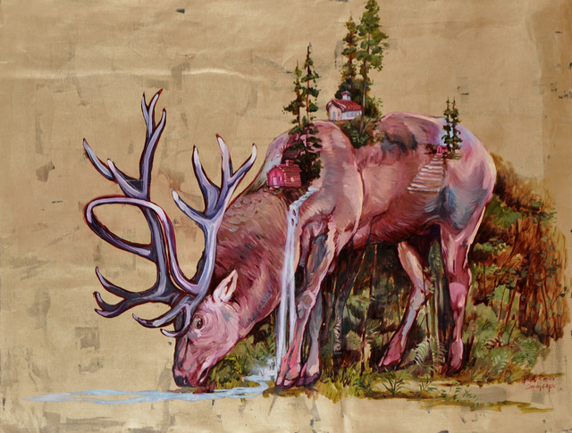, 'Cordyceps – Venado -,' 2013, Galería Alfredo Ginocchio