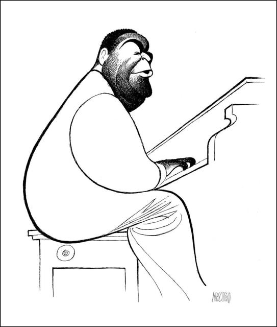 Al Hirschfeld, 'Fats Waller', 1996, RoGallery