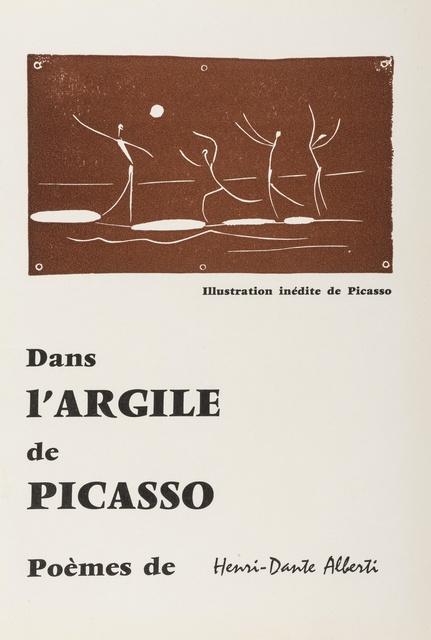 Pablo Picasso, 'Jeu de ballon sur une plage (Baer 1046, Cramer 89)', 1957, Print, Linocut printed in brown on Arches paper, Forum Auctions