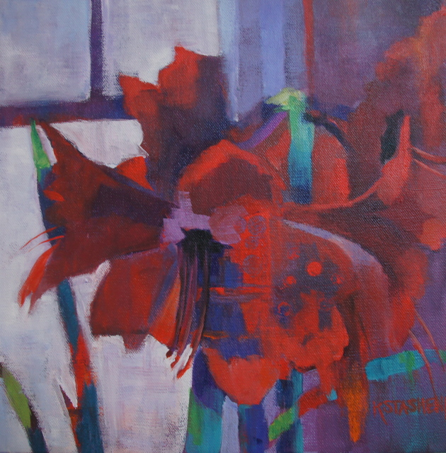 , 'Amaryllis ,' ca. 2018, Copley Society of Art