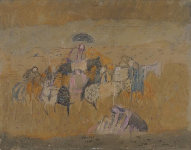 , 'Motivo dalmata,' 1948, Galleria d'Arte Maggiore G.A.M.