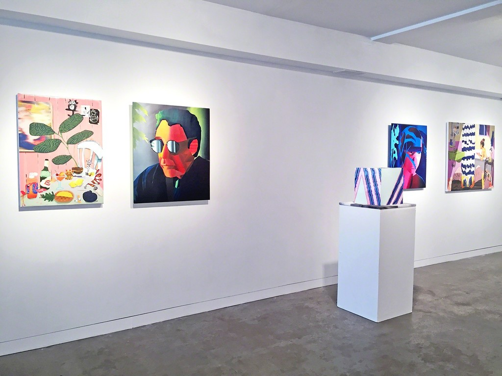 """Emulator"" installation view at Gallery 151, New York"